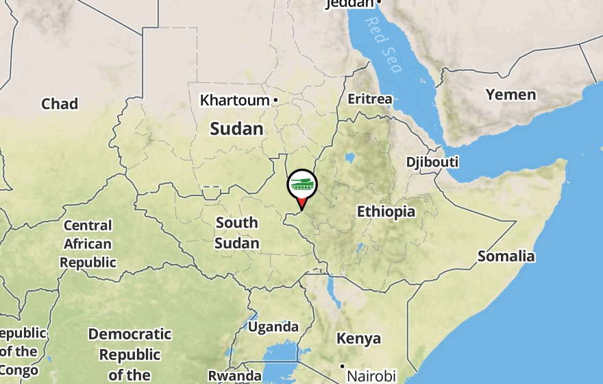 Sudanese Aerial Bombardment in the Nuba Mountains | SigActs.Blog